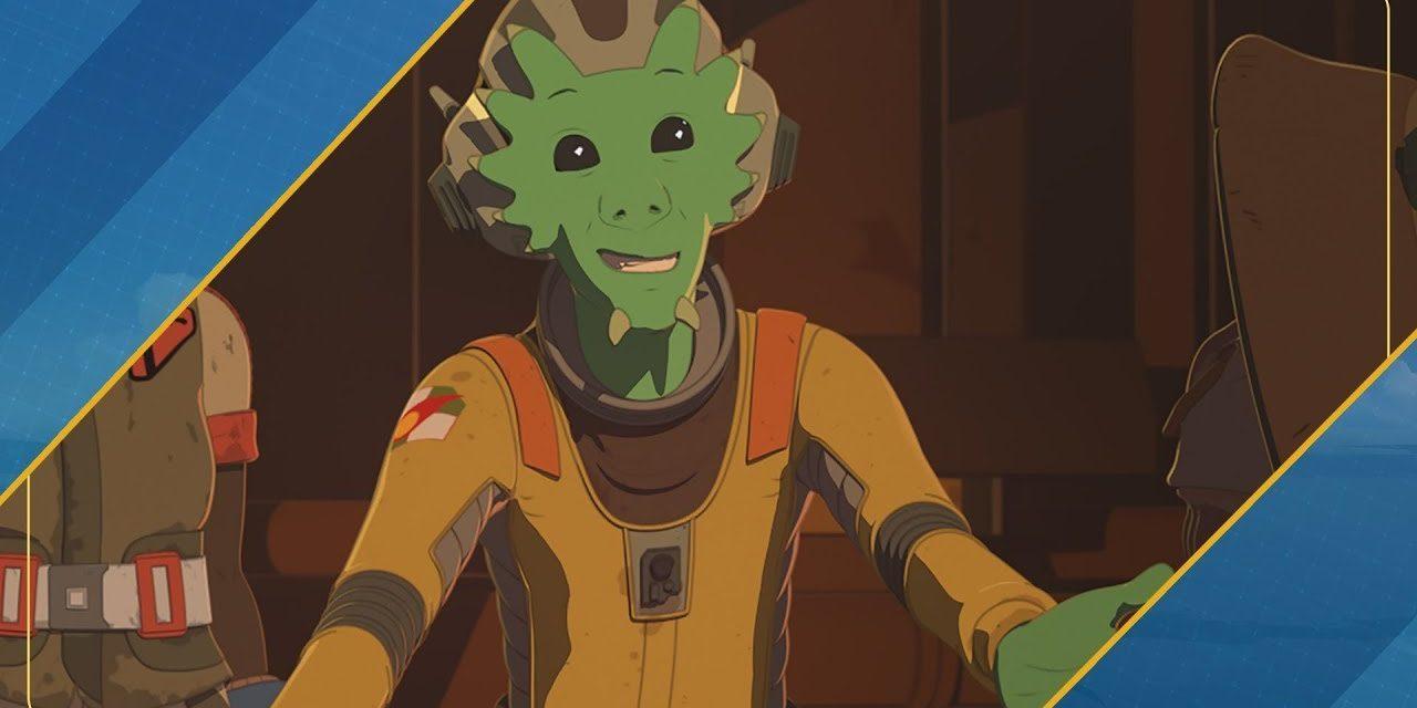 Star Wars Resistance Rewind #1.12   Getting to Know Neeku