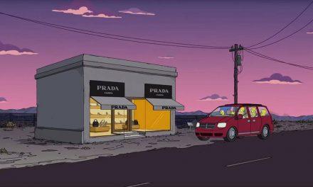 The Simpsons Take a Trip to Prada Marfa