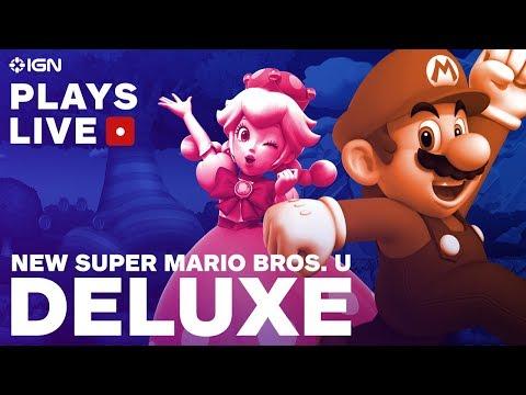 New Super Mario Bros. U Deluxe – Multiplayer Mayhem Livestream! – IGN Plays Live