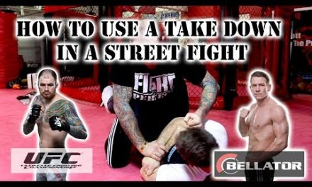 Brad Scott: How to street fight with MMA