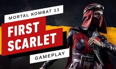 Mortal Kombat 11 – Full Match (Sonya vs. Skarlet)