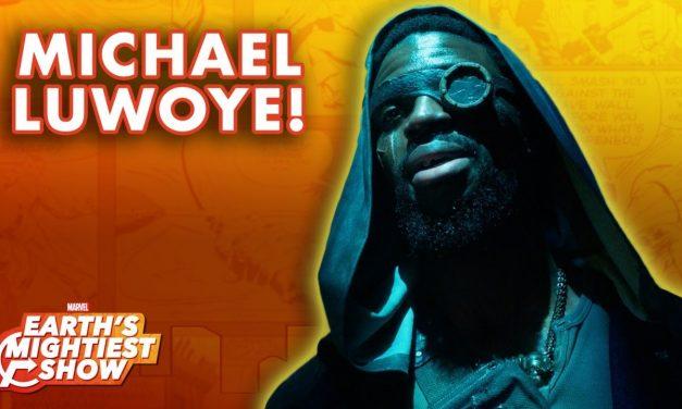 Michael Luwoye Interview & Marvel Karaoke Challenge! | Earth's Mightiest Show