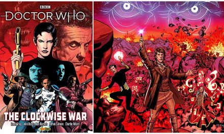 Doctor Who: The Clockwise War comic collection out in April