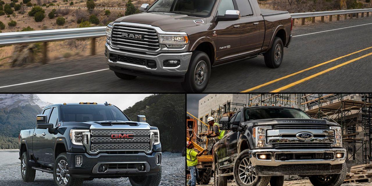 Specs Check: 2019 Ram HD vs. 2020 GMC Sierra HD vs. 2019 Ford Super Duty