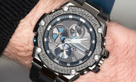 Casio's all-metal G-Shock uses its smart tech carefully, and for best effect