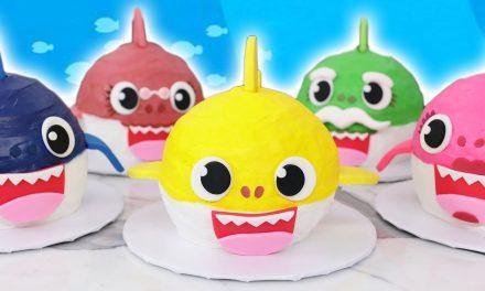 Baby Shark Cakes! – NERDY NUMMIES