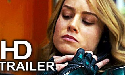 CAPTAIN MARVEL Receives Nick Fury Pager Avengers Infinity War Trailer NEW (2019) Superhero Movie HD