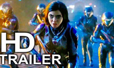 ALITA BATTLE ANGEL Outer Space Fight Scene Trailer NEW (2019) James Cameron Sci-Fi Movie HD
