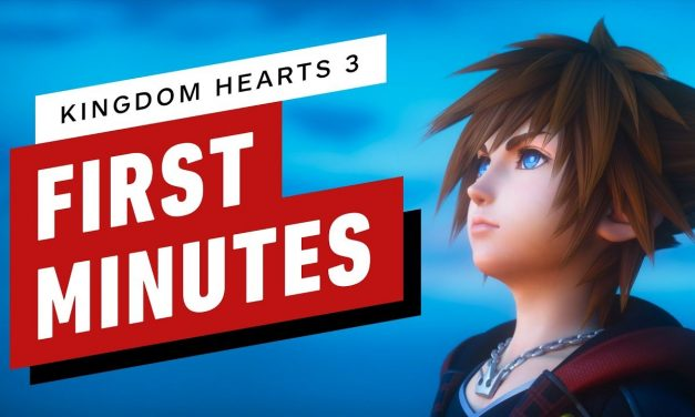 The First 16 Minutes of Kingdom Hearts 3 Gameplay