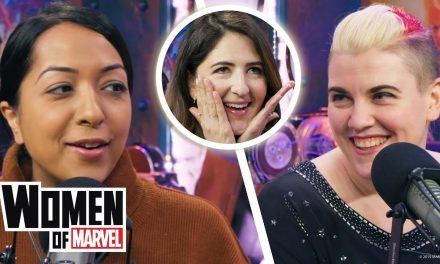 "Listen to our interview with D'Arcy Carden of ""The Good Place"" 