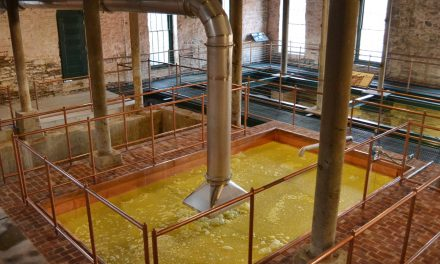 Buffalo Trace Distillery Fills an 1883 Fermenter for the First Time in 100 Years