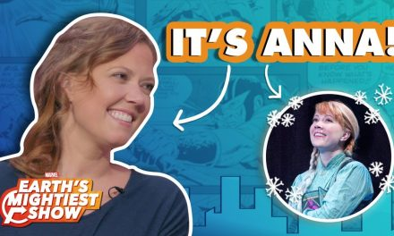Patti Murin of Frozen on Broadway sings Marvel comic quotes! | Earth's Mightiest Show Bonus