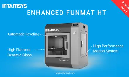 "INTAMSYS Announces ""FUNMAT HT Enhanced"" 3D Printer"