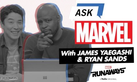 Super-Dads James Yaegashi and Ryan Sands answer YOUR questions! | Ask Marvel