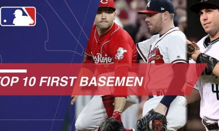 Goldy, Freeman and Votto Head Top 10 First Basemen