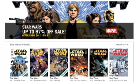 It's Not a Jedi Mind Trick, These Digital Star Wars Comics Really Are This Cheap.