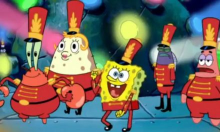 Here's the Super Bowl halftime show if Maroon 5 had actually played the 'SpongeBob' song