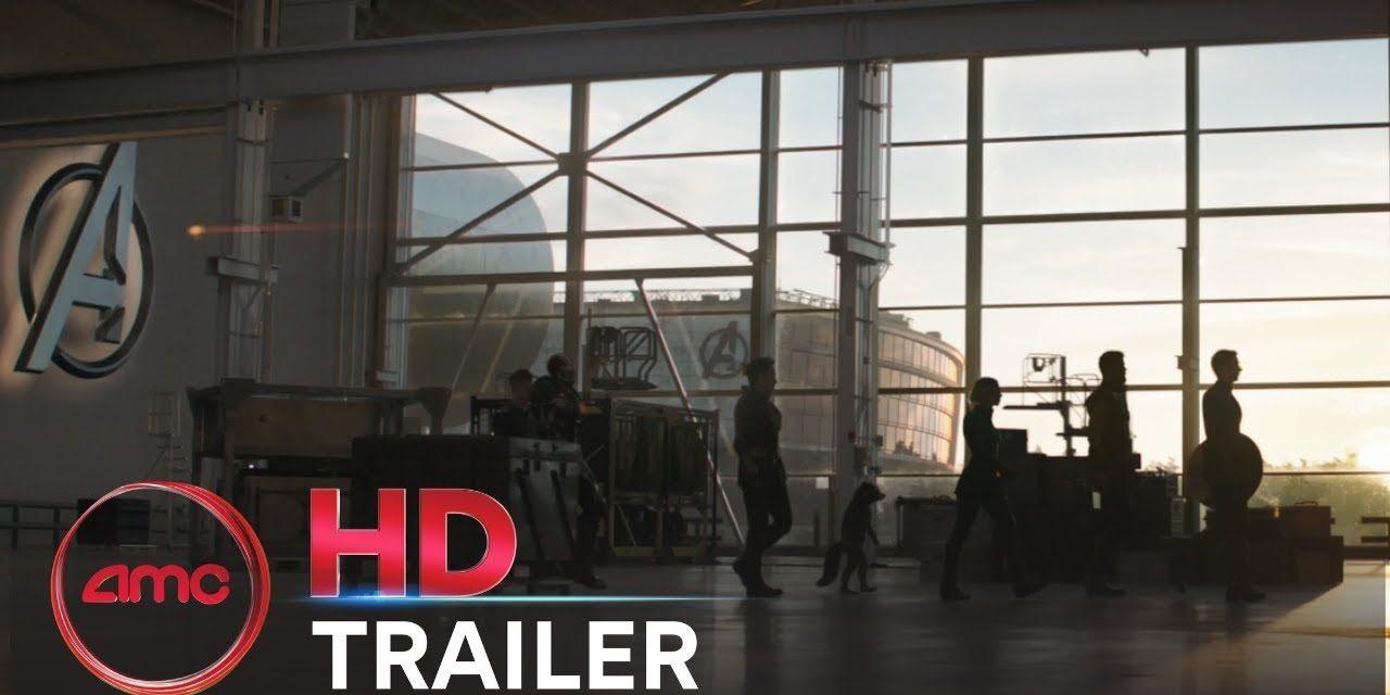 AVENGERS: ENDGAME – Super Bowl Trailer (Chris Evans, Scarlett Johansson)   AMC Theatres (2019)