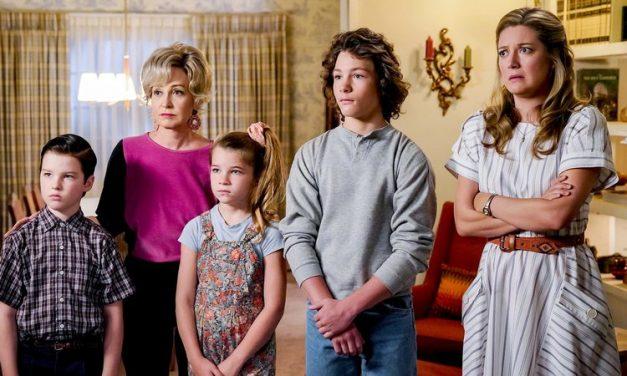 'Young Sheldon' adjusts down: Thursday finalratings