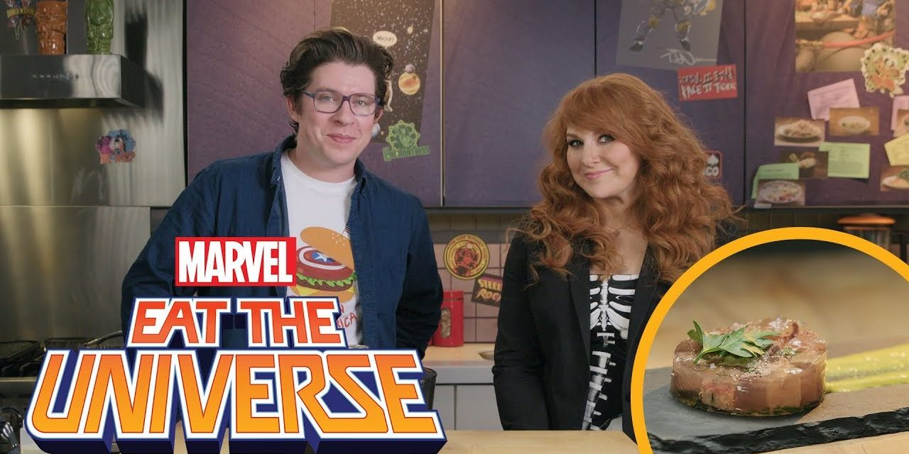 Julie Klausner and the Captain America Beef Tongue   Eat the Universe