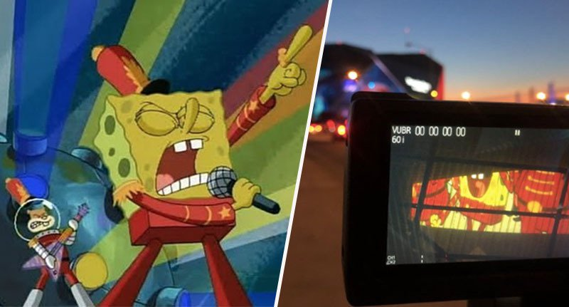 Maroon 5 Will Perform SpongeBob SquarePants' Sweet Victory At Super Bowl