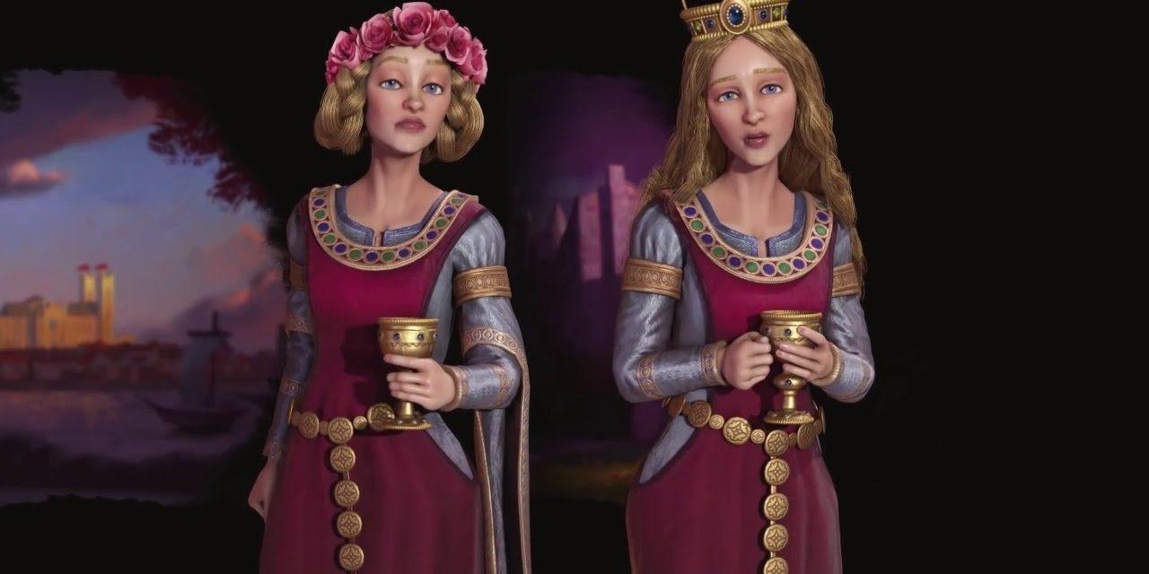 Civilization VI: Gathering Storm – First Look: Eleanor of Aquitaine Video