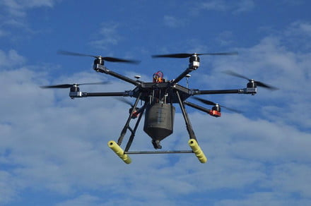 Drones dispense rat poison to help rid islands in Galapagos region of rodents