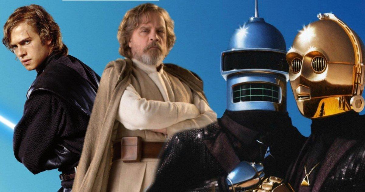 Mark Hamill Jokes That Star Wars 9 Title Was Predicted by Futurama