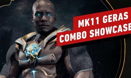 Mortal Kombat 11: Geras Combo Gameplay Breakdown
