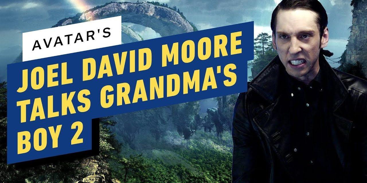 Avatar's Joel David Moore talks Grandma's Boy 2 at Alita Premiere