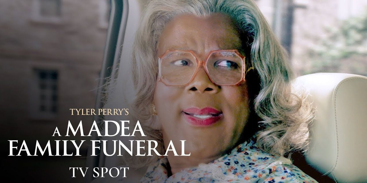 """Tyler Perry's A Madea Family Funeral (2019 Movie) Official TV Spot """"Hits"""" – Tyler Perry, Cassi Davis"""