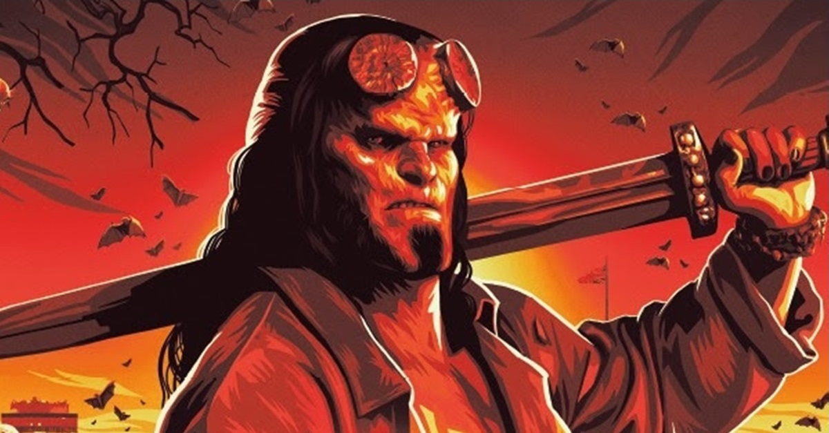 HELLBOY: THE ART OF THE MOTION PICTURE Hardcover Book Will Coincide with Movie Release