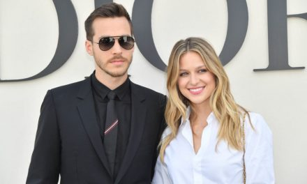 Melissa Benoist is engaged to her Supergirl co-star Chris Wood, and you have to see her giant ring