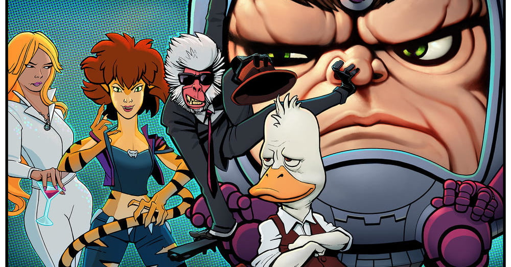 'Howard the Duck' and three other Marvel animated series are coming to Hulu