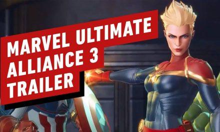 Marvel Ultimate Alliance 3: The Black Order Captain Marvel Trailer – Nintendo Direct