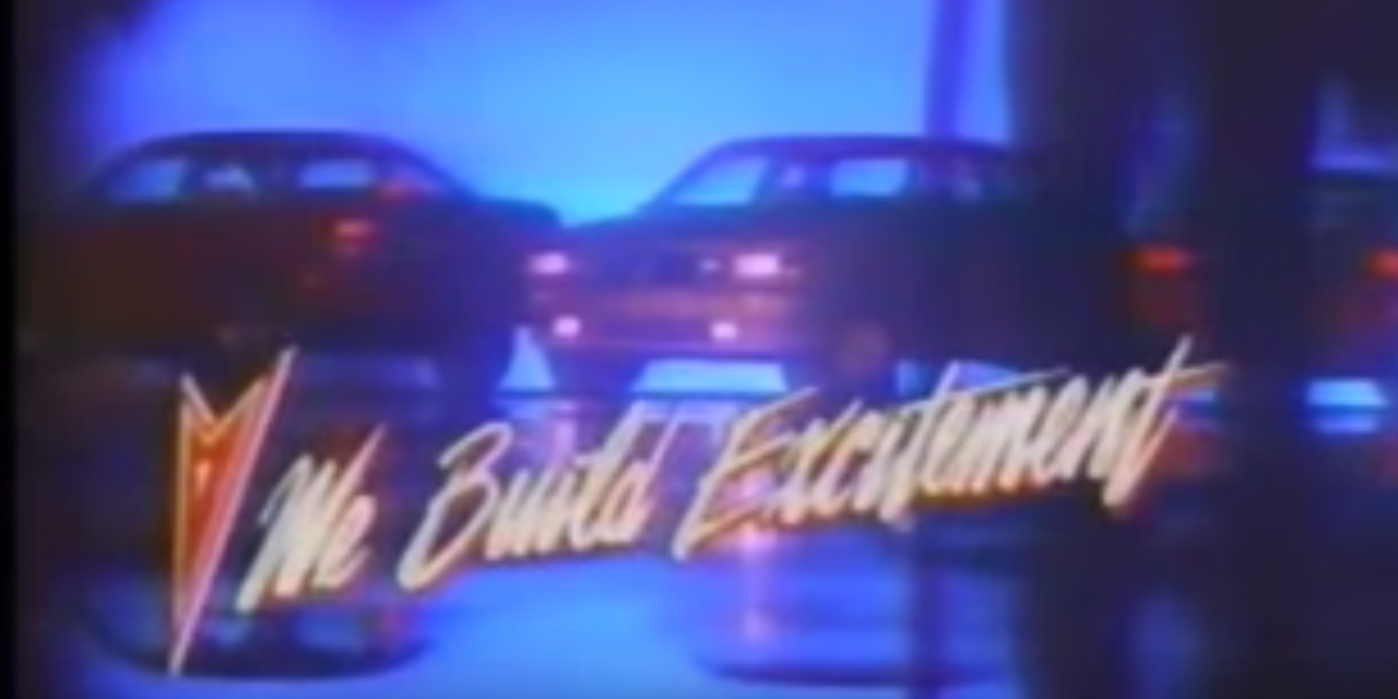 """""""RIDE PONTIAC RIDE"""" Is Your Rad '80s Earworm of the Day"""