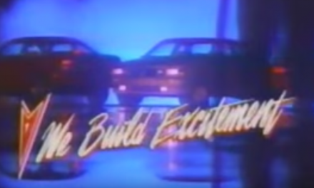 """RIDE PONTIAC RIDE"" Is Your Rad '80s Earworm of the Day"