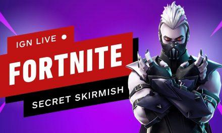 Fortnite Secret Skirmish (Day 1) – IGN Live
