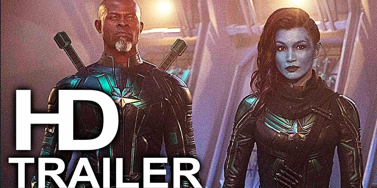 CAPTAIN MARVEL Destroy All Monsters Trailer NEW (2019) Superhero Movie HD