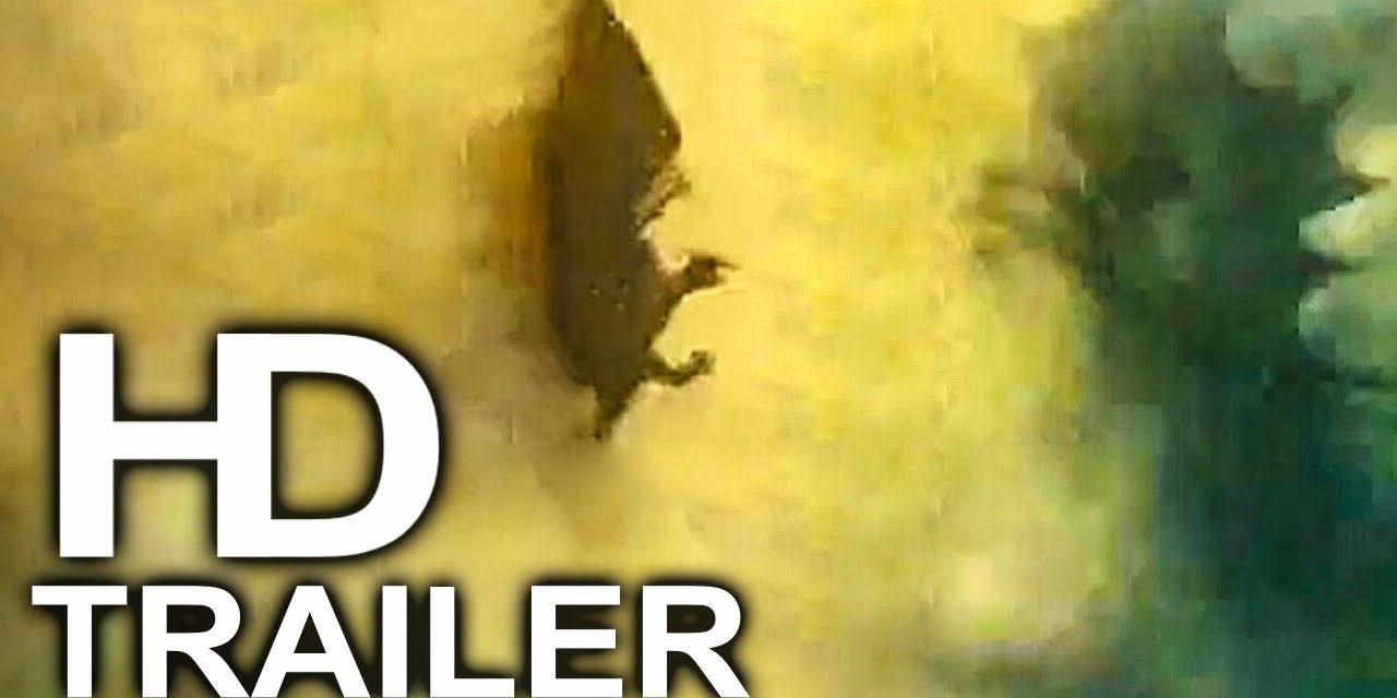 GODZILLA 2 Rodan Vs King Ghidorah Trailer NEW (2019) King Of The Monsters Action Movie HD