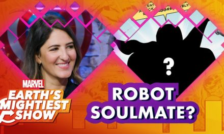 The Good Place's D'Arcy Carden Finds Her Robot Soulmate! | Earth's Mightiest Show
