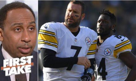 Ben Roethlisberger deserves blame for Antonio Brown/Steelers drama – Stephen A. | First Take