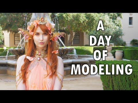 Modeling as a Koi Fish Princess!