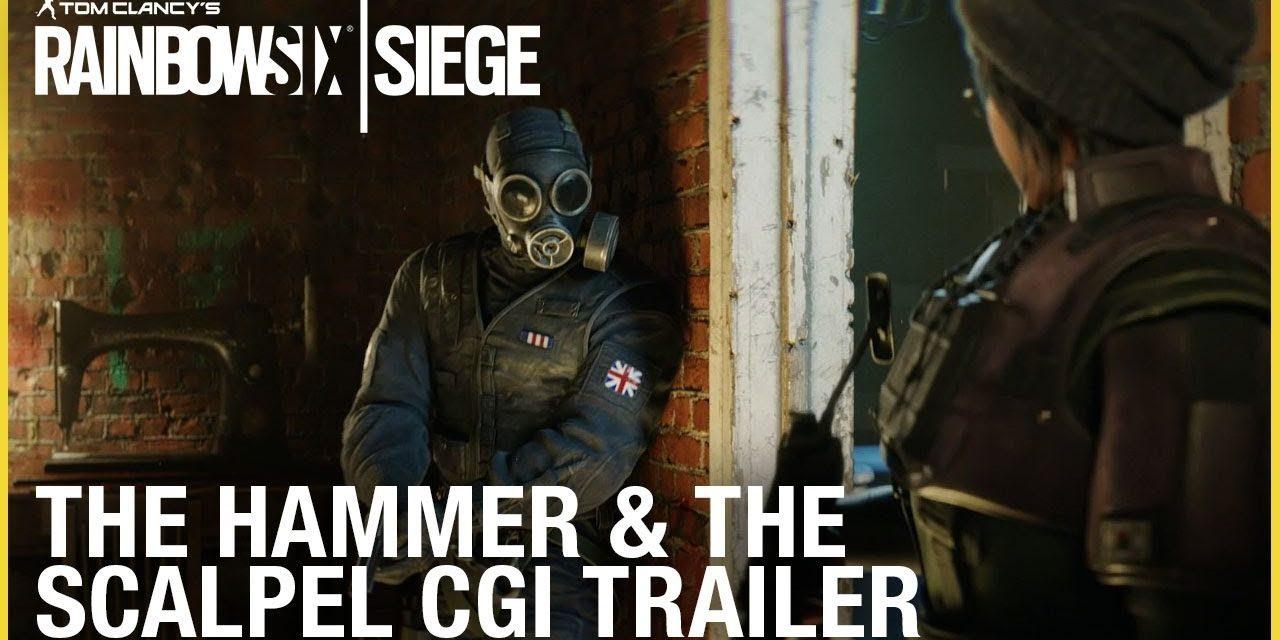 Rainbow Six Siege: The Hammer and the Scalpel   CGI Trailer   Ubisoft [NA]