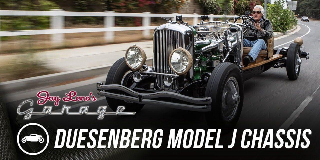 1931 Duesenberg Model J Chassis – Jay Leno's Garage