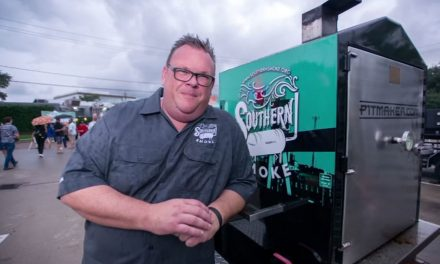 Houston barbecue company surprises Chris Shepherd with new trailer after prized smoker stolen – KTRK-TV