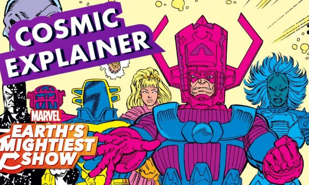 12 Surprisingly Powerful Cosmic Characters! | Earth's Mightiest Show