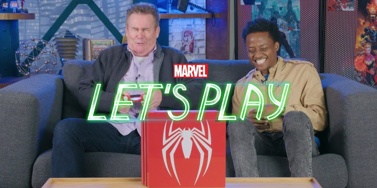 Brian Regan Learns to Button Mash   Marvel Let's Play