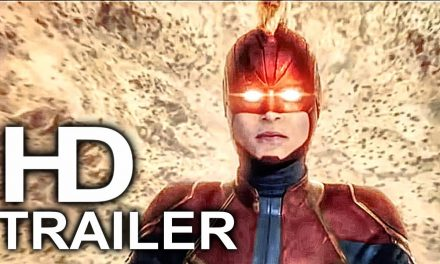 CAPTAIN MARVEL Falling Down From Space Trailer NEW (2019) Superhero Movie HD