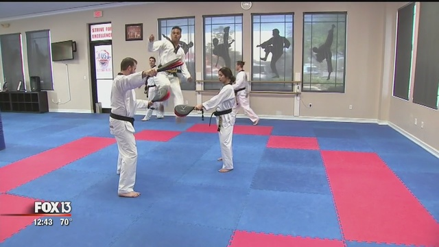 Tae Kwon Do classes in New Tampa gives lessons in self-defense, respect – FOX 13 News, Tampa Bay
